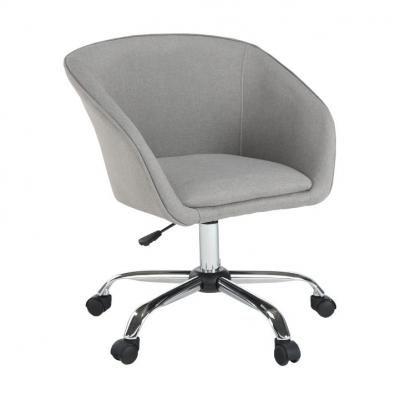 Szövet irodai szék, szürke - ESQUIMAU